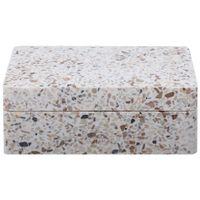 Terrazzo caixa dec. 15 cm x 10 cm x 5 cm