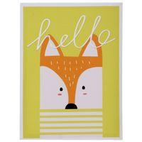 Hello friends fox quadro 30 cm x 40 cm