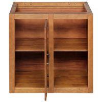 Gourmet armário inferior canto 1 m 1 porta