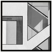 Block and white i quadro 53 cm x 53 cm