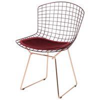Bertoia cadeira c/ almofada