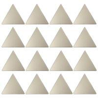 Confetti triangles adorno parede c/16
