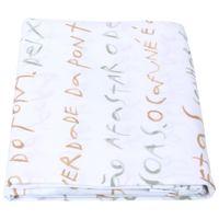 Manuscrito lençol solteiro 1,60 m x 2,40 m