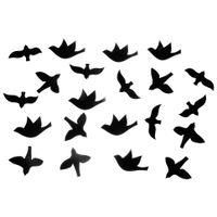 Flock adorno parede c/21