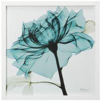 Flores raio-x i quadro 30 cm x 30 cm