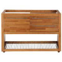 Gourmet armário inferior 1,20 m 2 gavetas/1 porta basculante