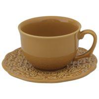 Especiarias curry xícara chá