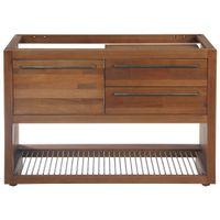 Gourmet armário inferior 1,20 m 2 gavetas/1 porta basculante p/hidráulica