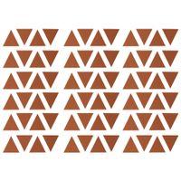 Mini triangle adesivo 4 cm x 4 cm c/72
