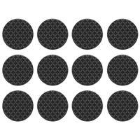 3m protetor antideslizante redondo médio 2,5 cm x 2,5 cm c/12
