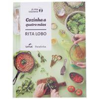 Livro cozinha a quatro mãos