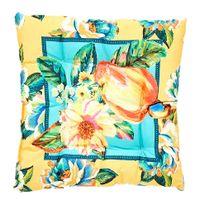 Jardim tropical caju/flor futon almofada