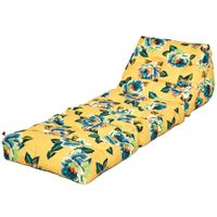 Jardim tropical chita futon-cama