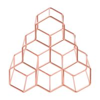 Structure hex porta-garrafas p/6