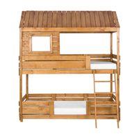 Wood home cama beliche 78 cm