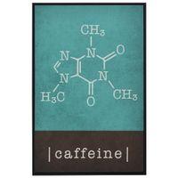 Moléculas caffeine quadro 20 cm x 30 cm