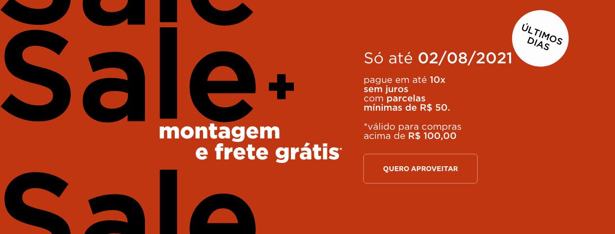 Sale + Frete Grátis